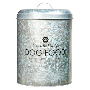 8.5 qt. Pet treat jar