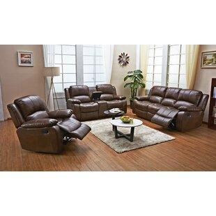 Dowdle 3 Piece Living Room Set by Red Barrel Studio