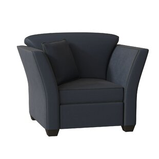 Manhattan Leather Armchair by Omnia Leather