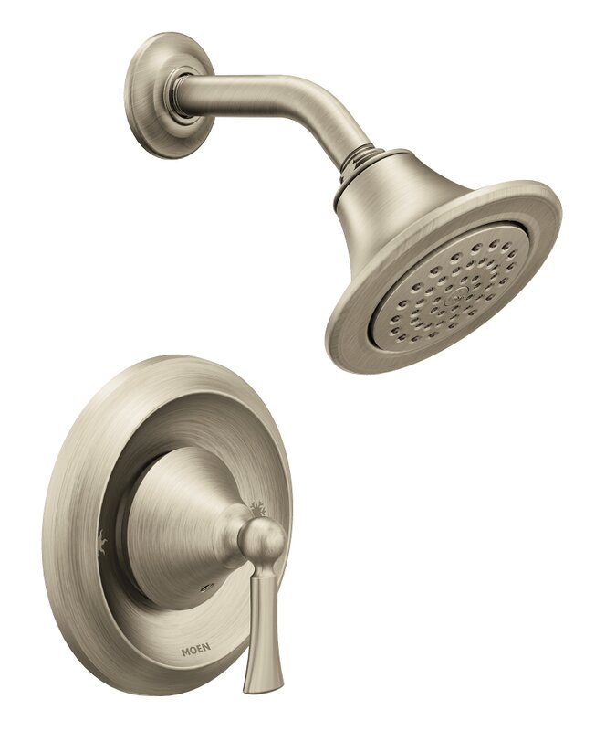Moen Wynford Shower Faucet Lever Handle with Posi-Temp & Reviews ...