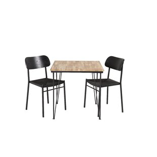 Nectar Dining Set With 2 Chairs By 17 Stories