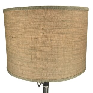 Savings 16 Burlap Drum Lamp Shade By Fenchel Shades