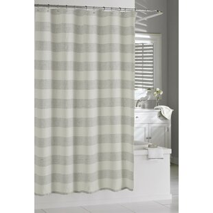Burdella Linen Single Shower Curtain