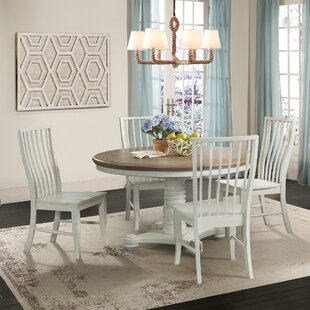 Miner 5 Piece Extendable Solid Wood Dining Set August Grove