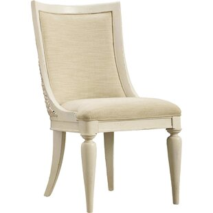 Sandcastle Seagrass Slipper Upholstered Dining Chair (Set of 2)