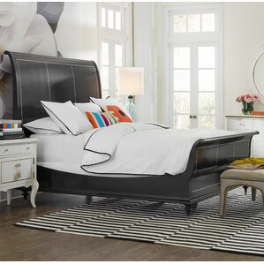 Twin Peak Sleigh Bed by Cynthia Rowley