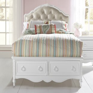 Cranbrook Panel Bed with Storage
