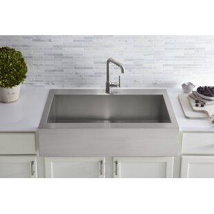 Top Mount Apron Front Sink | Wayfair