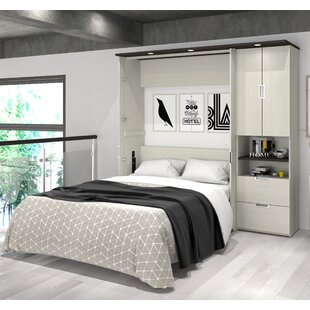 Affordable Price Juniper Storage Murphy Bed by Latitude Run Reviews (2019) & Buyer's Guide