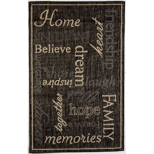 Kalama Black Indoor/Outdoor Area Rug