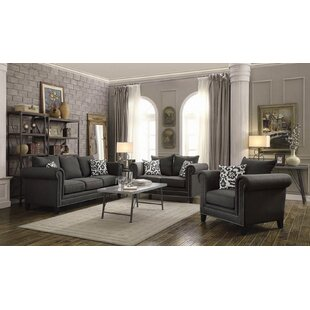 Darby Home Co Retford 3 Piece Living Room..