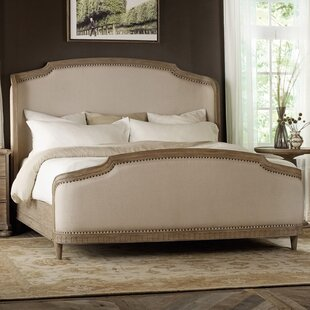 Hermon Upholstered Panel Bed by Hooker Furniture