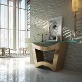 Mori Console Table by Everly Quinn