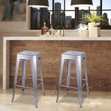 Armina 30 Bar Stool (Set of 2) by 17 Stories