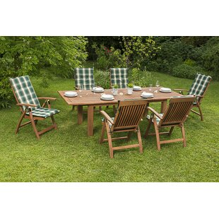 Wickstrom 6 Seater Dining Set With Cushions By Sol 72 Outdoor