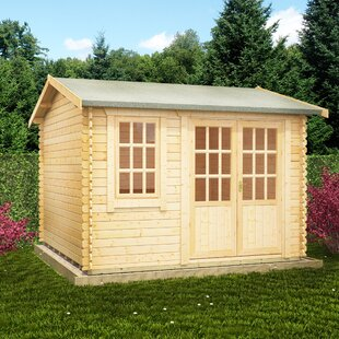 Persian 10 X 10 Ft. Tongue And Groove Log Cabin By Tiger Sheds