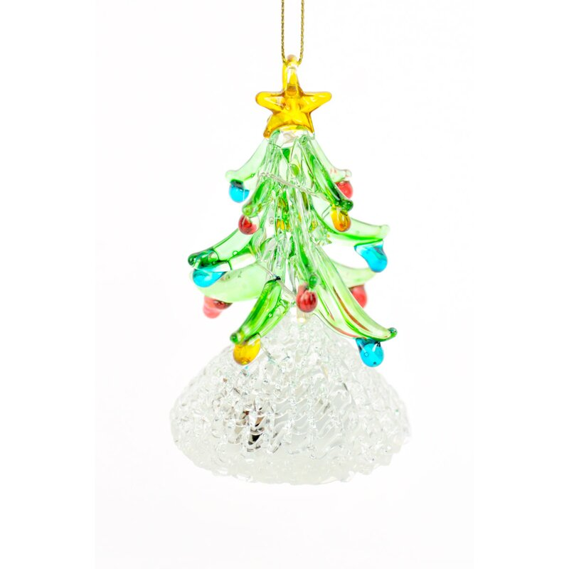 Clear Lighted Christmas Tree Holiday