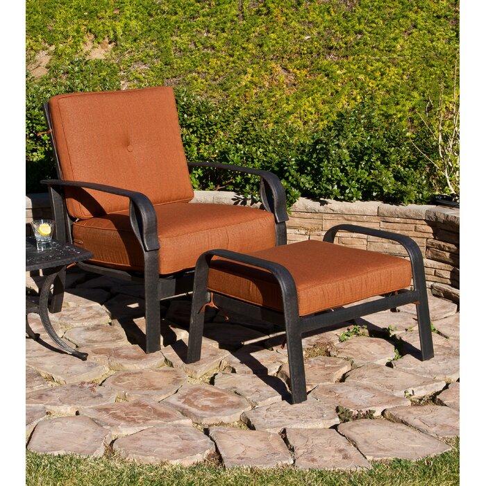 Magnificent Waynesburg Deep Seating Club Chair Ottoman With Cushions Cjindustries Chair Design For Home Cjindustriesco