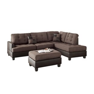 Venegas Reversible Sectional with Ottoman