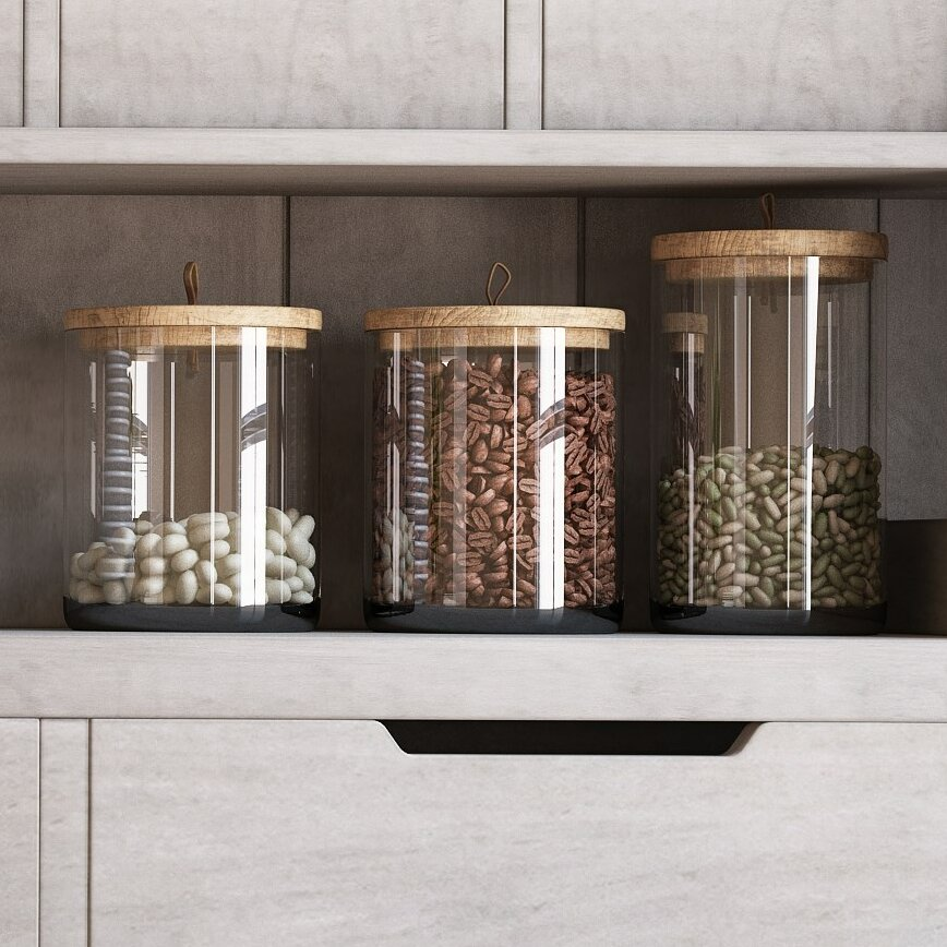 Rustic Kitchen Canister