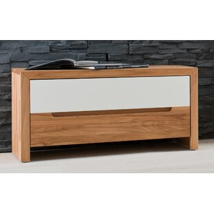 Sue Solid Wood Storage Bench By Ebern Designs