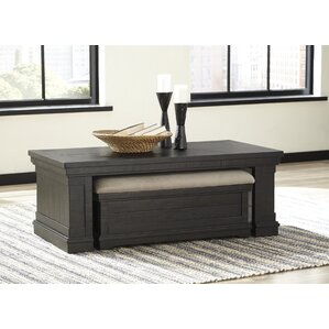 Fargo Coffee Table With Nested Ottoman (Set Of 2)