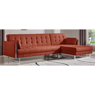 Burnt Orange Sectional Sofa Wayfair