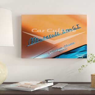 '1956 Maserati A6G/2000 Coupe' Graphic Art Print on Canvas ByEast Urban Home