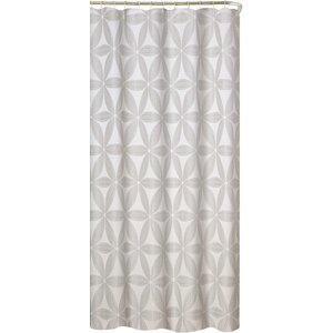 Iris Fabric Shower Curtain