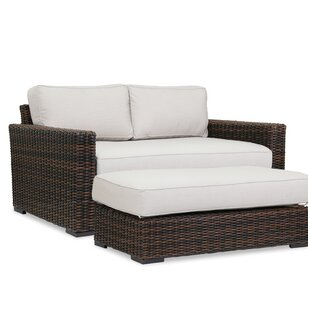 Sunset West Montecito Loveseat with Sunbrella Cushions