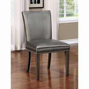 Winifred Nailhead Trim Solid Wood Dining Chair (Set of 2) by Gracie Oaks