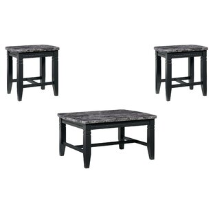 Darby Home Co Oberlin 3 Piece Coffee Table Set
