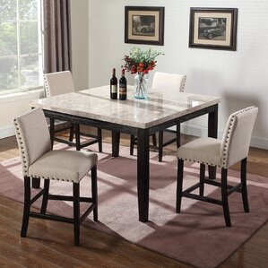 Pictures Of Dinner Tables square kitchen & dining tables you'll love | wayfair