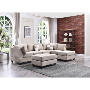 White Sectionals Youll Love Wayfair