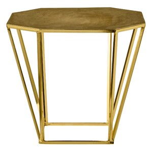 Pentagonal End Table by Bl..