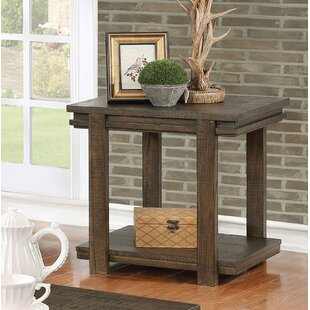 Top Reviews Stackhouse Rustic End Table By Millwood Pines