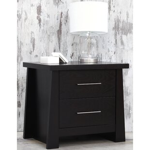 Emery 2 Drawer Nightstand