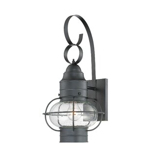 Bay Isle Home Francestown 1-Light Outdoor Wall Lantern