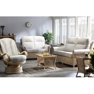 Kiara 5 Piece Conservatory Sofa Set By Beachcrest Home