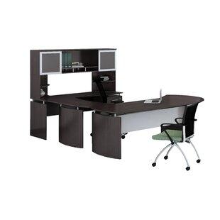 Review Medina Series 3-Piece U-Shape Desk Office Suite by Mayline Group
