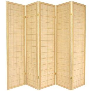 Aria Shoji 5 Panel Room Divider