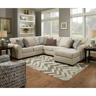 Alcott Hill Herdon Sleeper Sectional