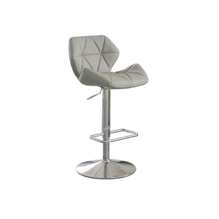 Aaron Adjustable Height Swivel Bar Stool