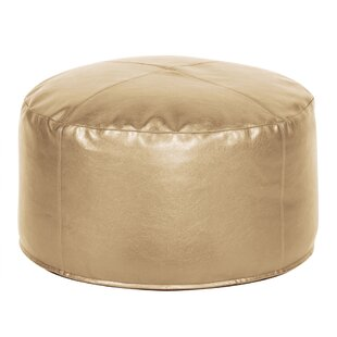 Sylvania Shimmer Pouf by Everly Quinn