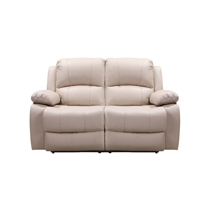 Cool Timmerman Leather Reclining Loveseat Pabps2019 Chair Design Images Pabps2019Com
