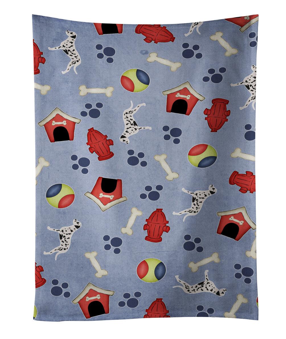 East Urban Home Dalmatian Dog House Dishcloth Wayfair