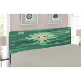 Underwater Upholstered Panel Headboard by East Urban Home
