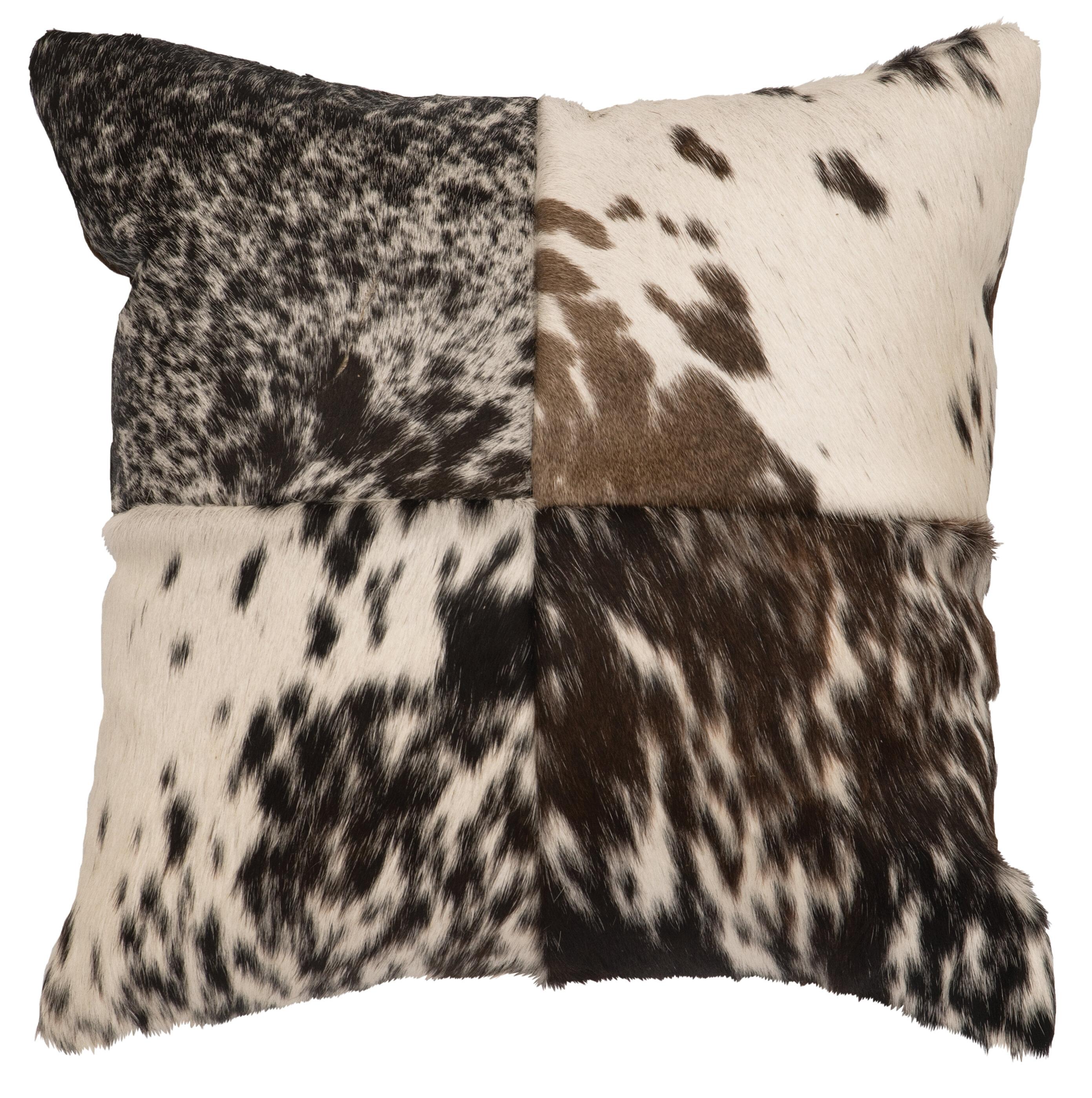 Bloomsbury Market Strathairn Leather Throw Pillow Reviews Wayfair