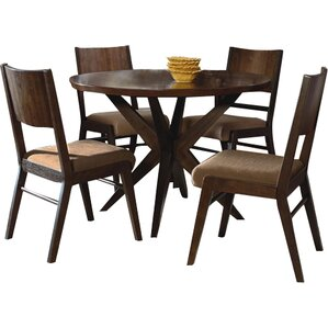 Carrion 5 Piece Dining Set by Mercury Row