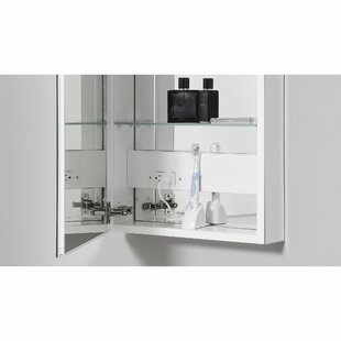 15.25 x 34 Recessed or Surface Mount Medicine Cabinet